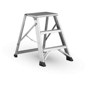 aluminiowy stołek, taboret, schodki - Matrix